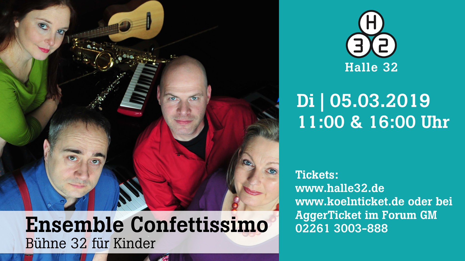 Halle 32 | Ensemble Confettissimo