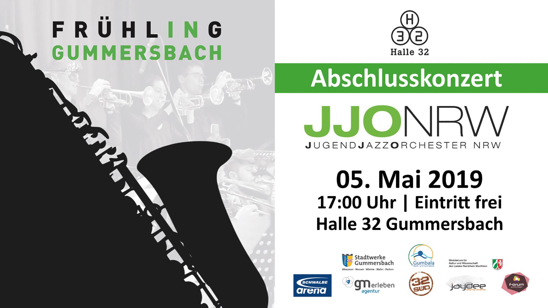 Halle 32 | JugendJazzOrchester NRW beim Frühling GM