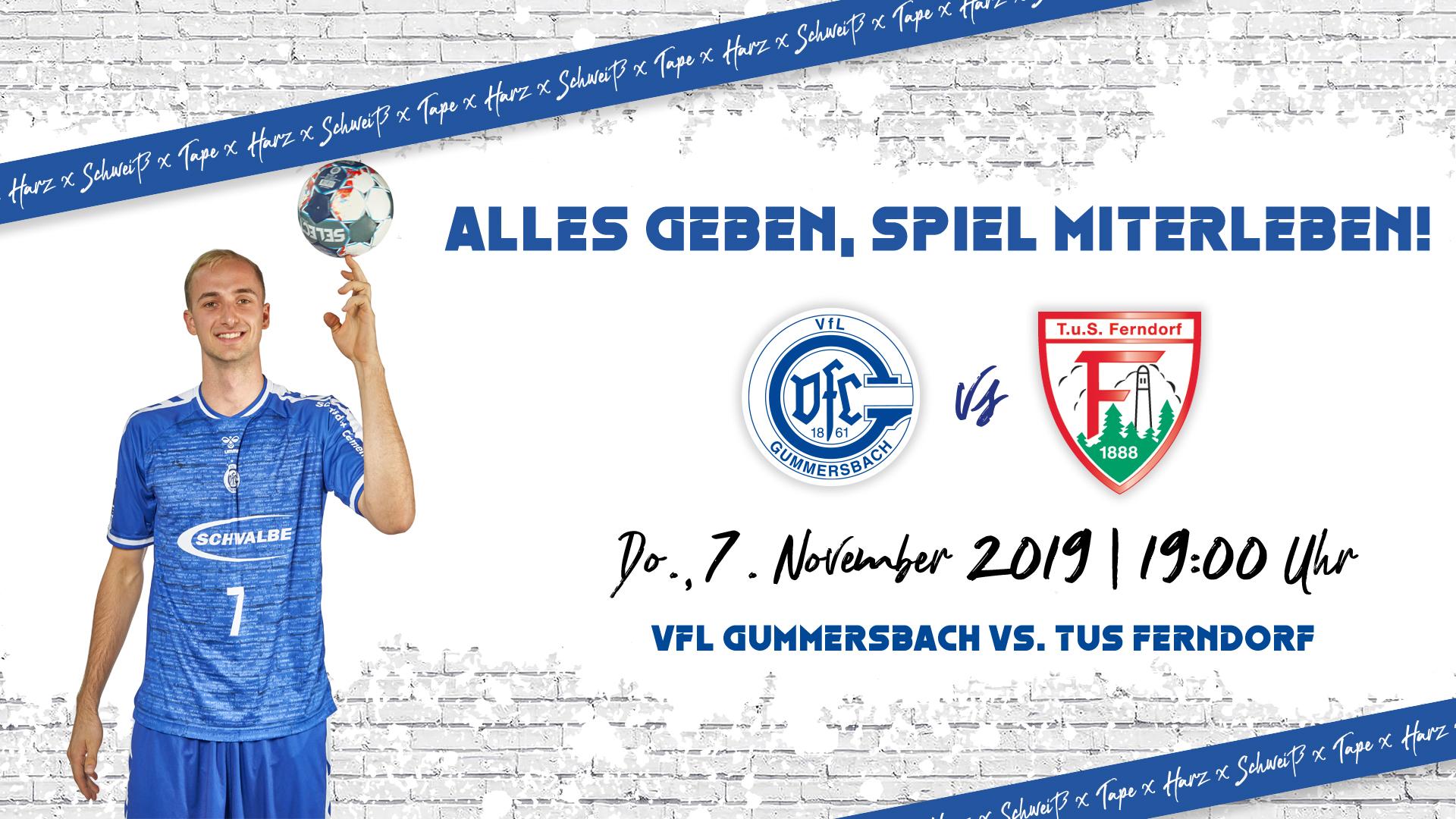 HEIMSPIEL | VfL Gummersbach - TuS Ferndorf