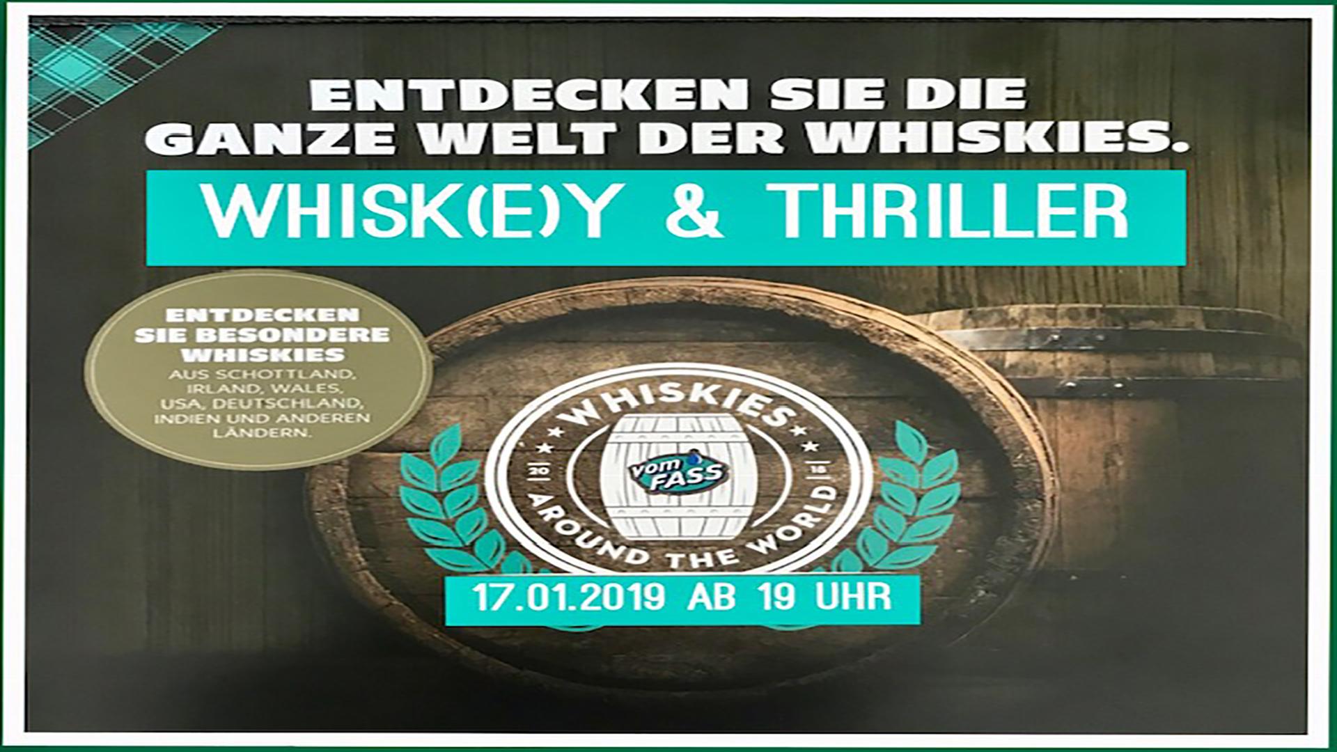 Forum | vom Fass - Whiskey & Thriller