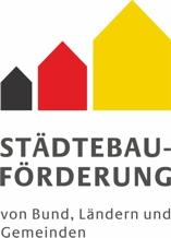 Logo Stadtebauförderung von Bund, Ländern und Gemeinden
