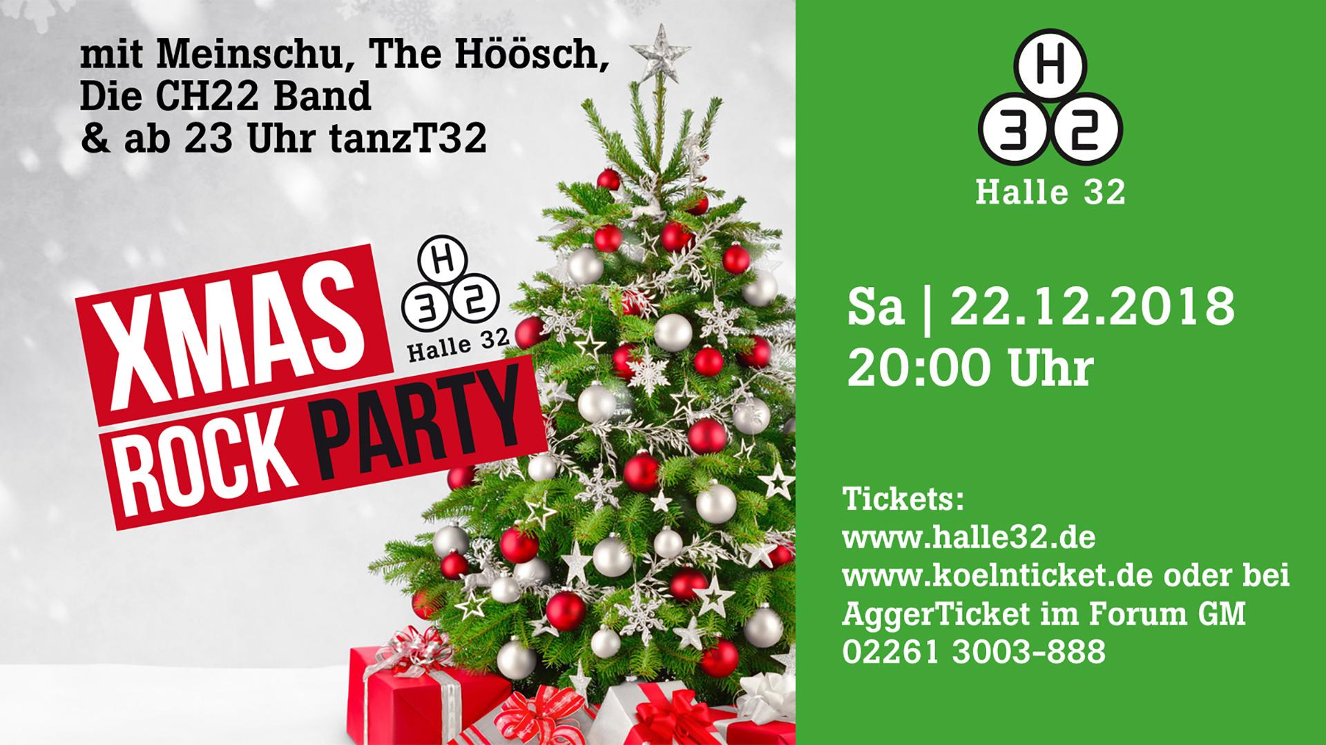 Halle 32 | Xmas Rock Party