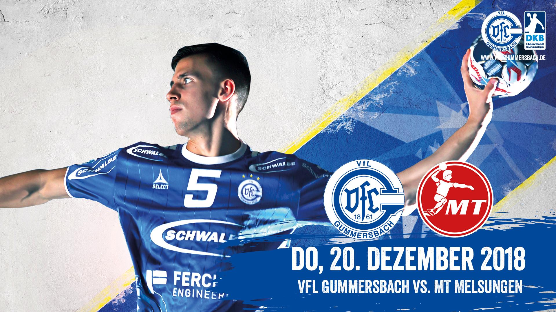 HEIMspiel   VfL Gummersbach - MT Melsungen