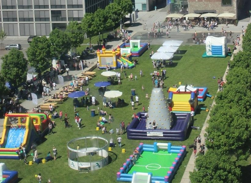 Spiel und Spaß mit der Oberbergischen Kinderheimat im Stadtgarten