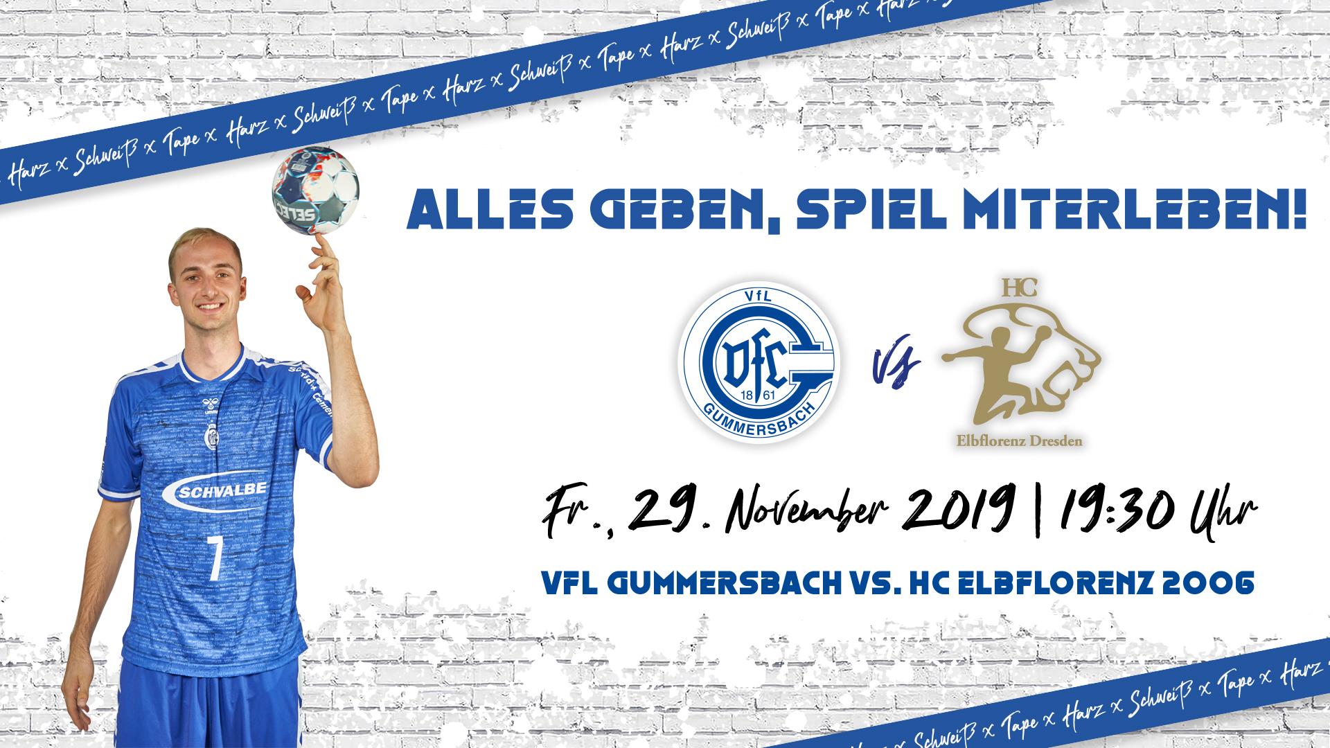 HEIMspiel | VfL Gummersbach - HC Elbflorenz 2006