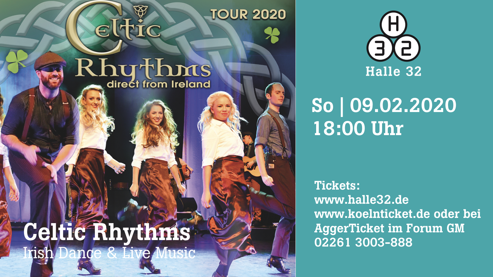 Halle 32 | Celtic Rhythms
