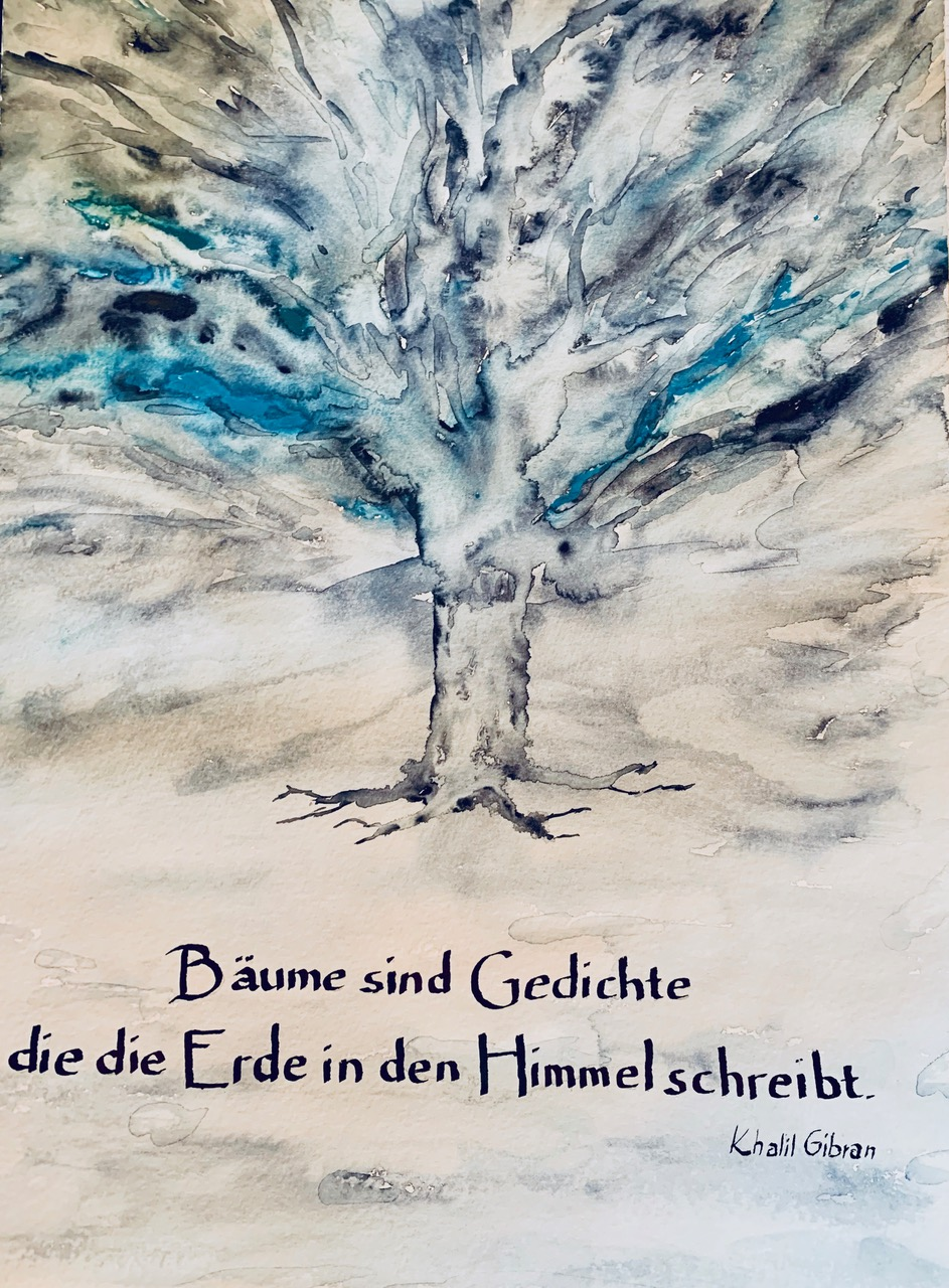Kalligrafie, Christine Eck