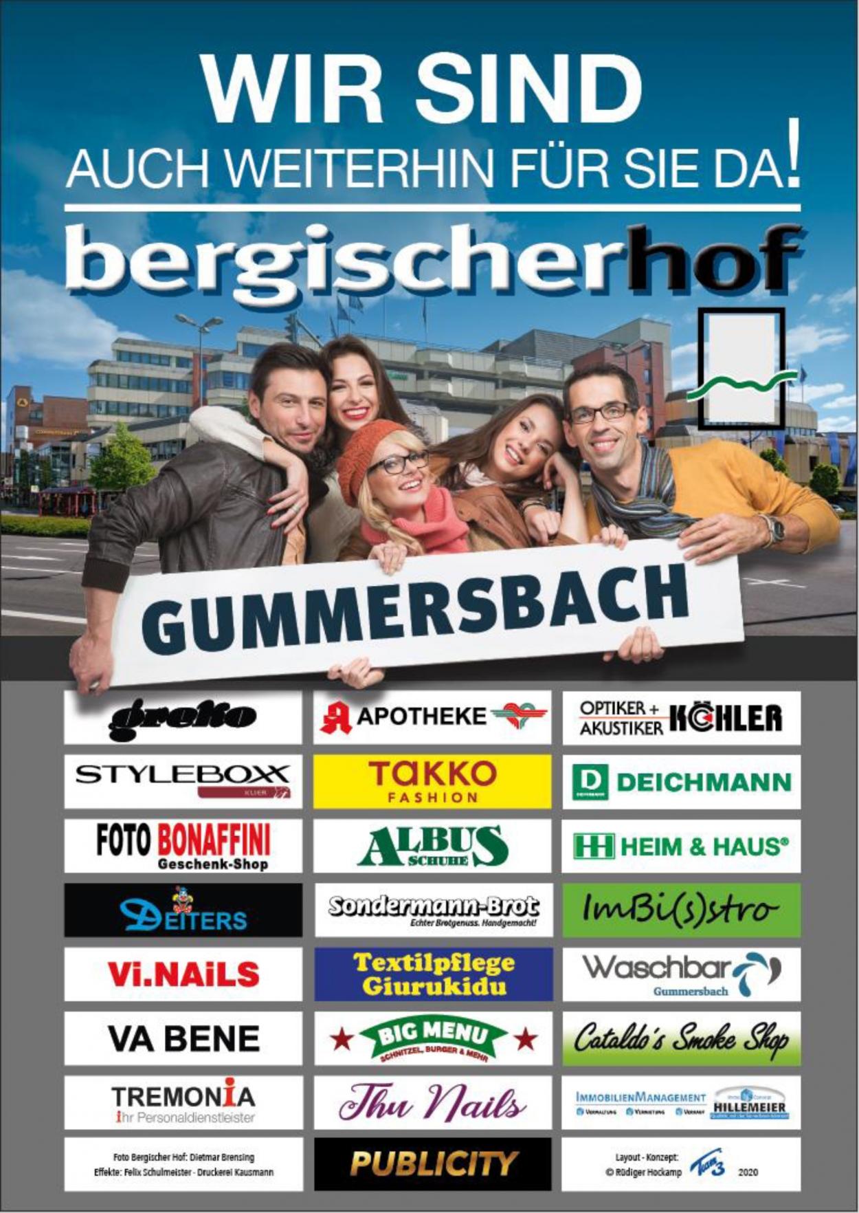 Bergischer Hof | Weiterhin für Sie da!