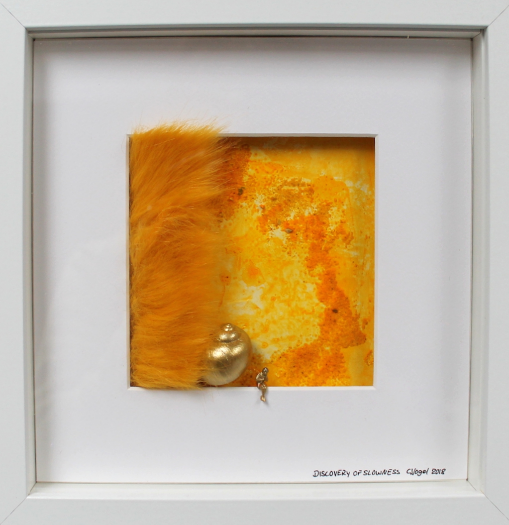 Discovery of Slowness, 25x25 cm, Christiane Vogel