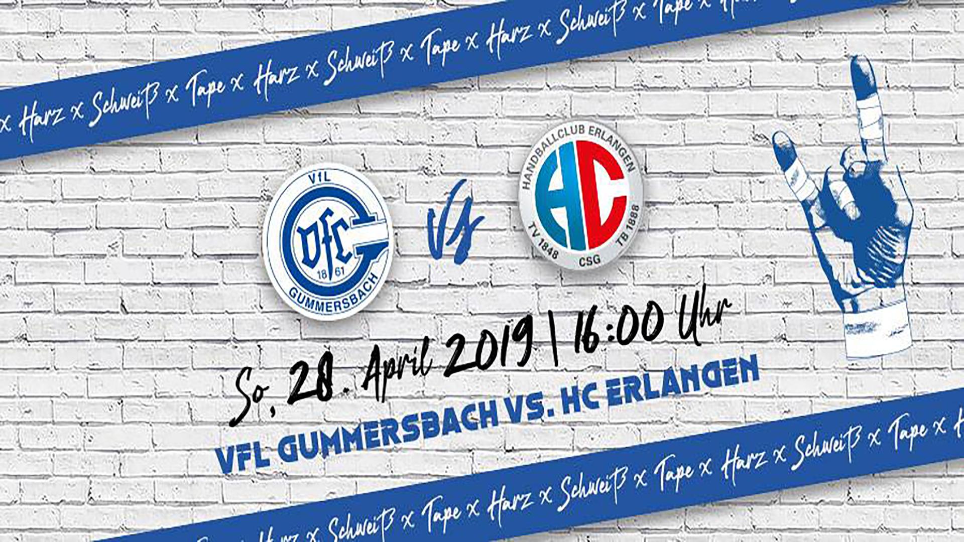 HEIMspiel | VfL Gummersbach - HC Erlangen