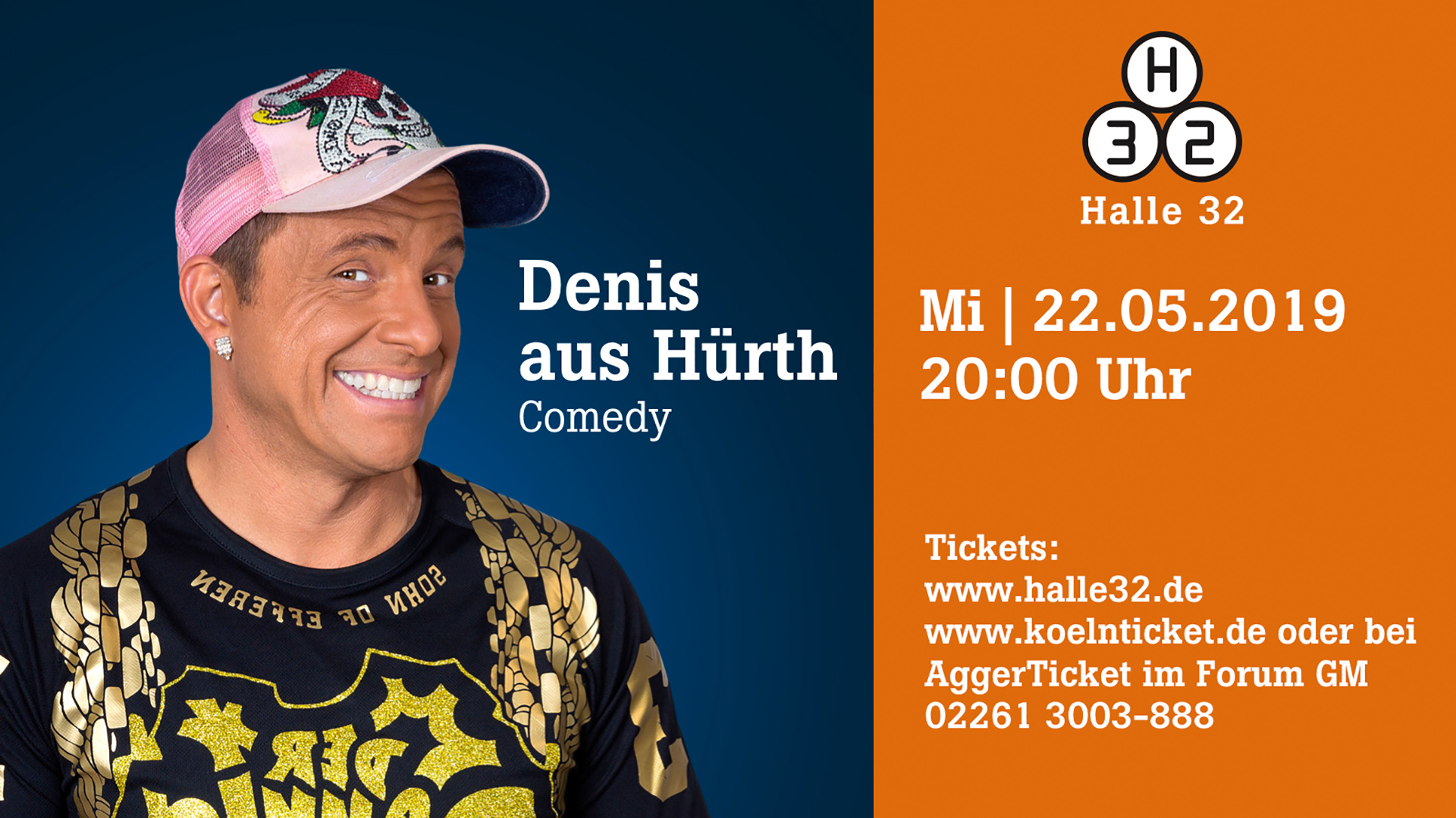 Halle 32 | Denis aus Hürth
