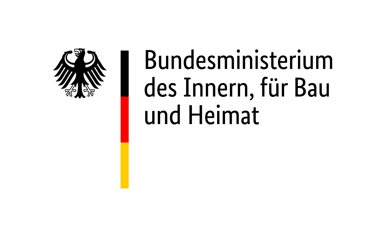Logo Bundesminsterium des Innern, für Bau und Heimat
