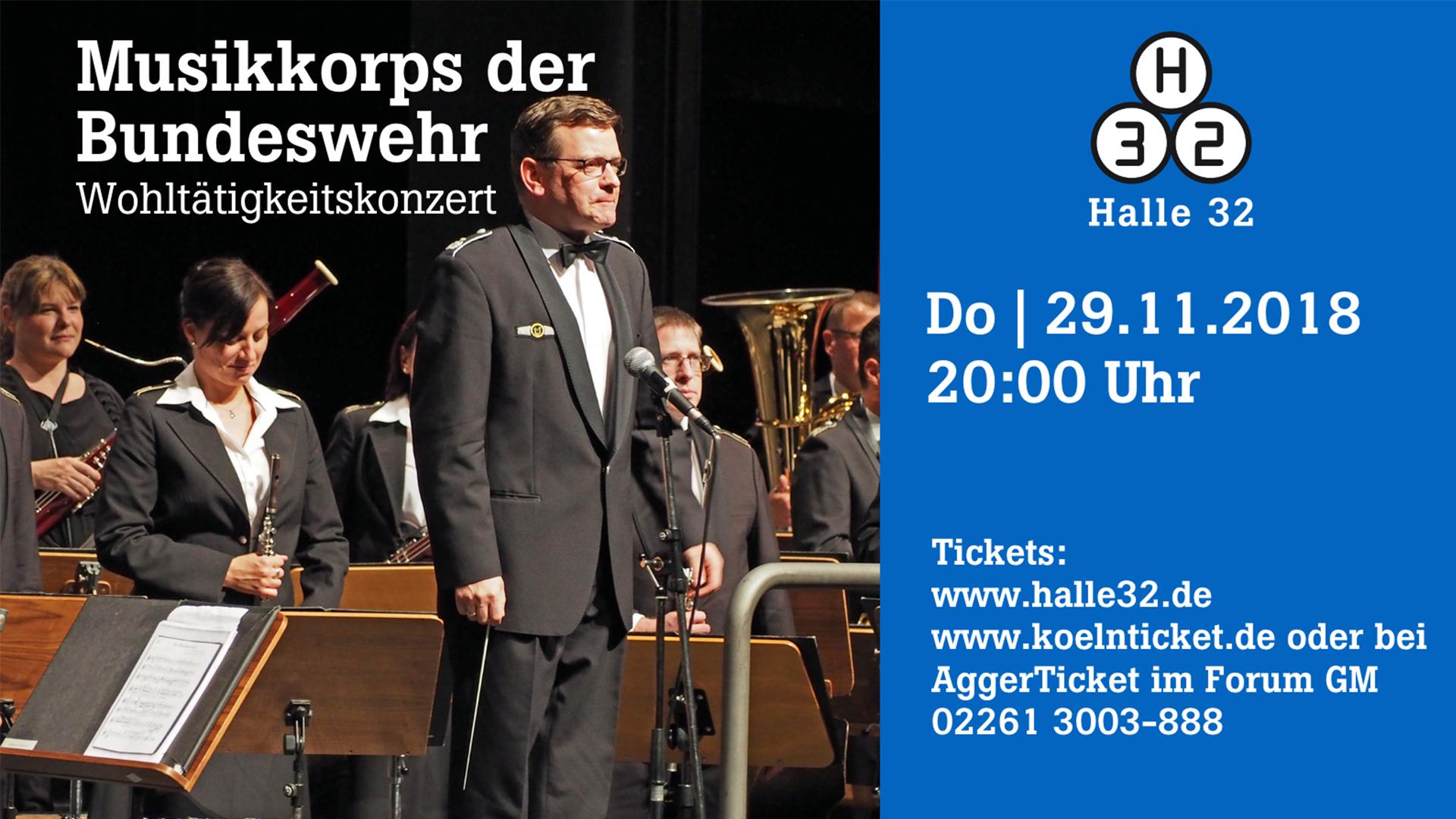Halle 32   Musikkorps der Bundeswehr