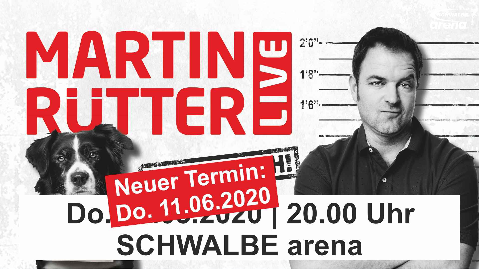 SCHWALBE arena | Martin Rütter - Freispruch