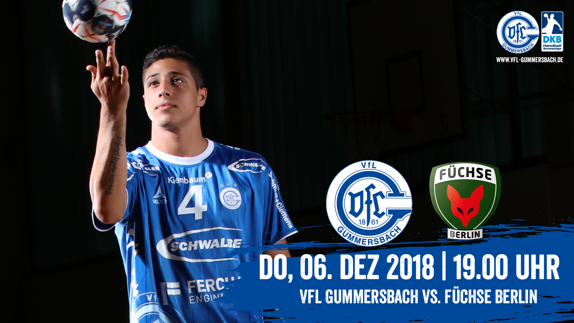 HEIMspiel   VfL Gummersbach - Füchse Berlin